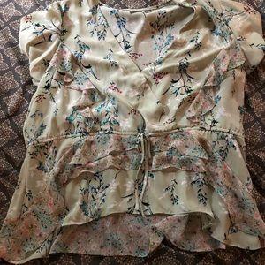 New York & Co Soho brand Floral print blouse